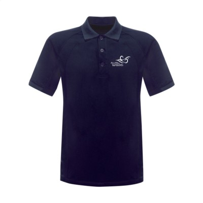 Picture of REGATTA STANDOUT COOLWEAVE WICKING POLOSHIRT in Navy