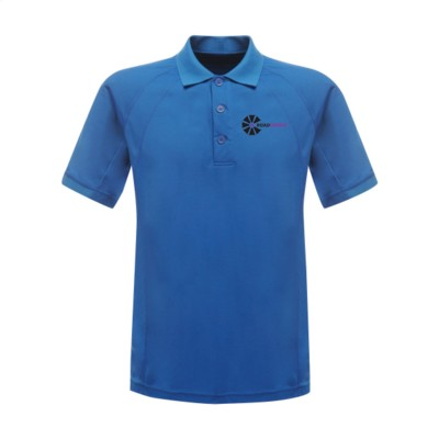 Picture of REGATTA STANDOUT COOLWEAVE WICKING POLOSHIRT in Light Blue