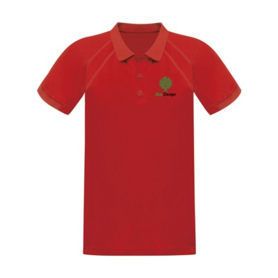 Picture of REGATTA STANDOUT COOLWEAVE WICKING POLOSHIRT in Red