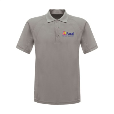 Picture of REGATTA STANDOUT COOLWEAVE WICKING POLOSHIRT in Light Grey