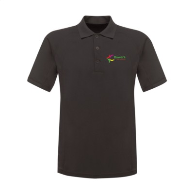 Picture of REGATTA STANDOUT COOLWEAVE WICKING POLOSHIRT in Dark Grey