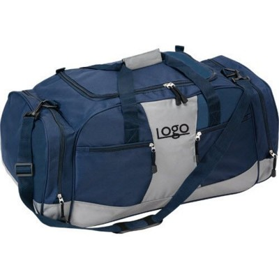 Picture of TROPHY AWARD XL SPORTS TRAVEL BAG in Blue