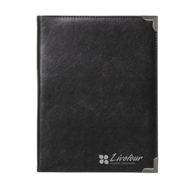 Picture of CONGRESS A4 DOCUMENT FOLDER in Black & Silver