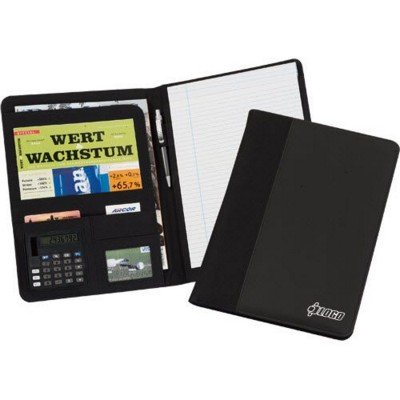 Picture of ALPHA A4 CONFERENCE FOLDER in Black