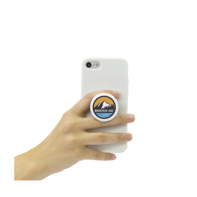 Picture of POPSOCKETS® QRX PHONE HOLDER in White