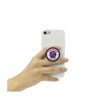 Picture of POPSOCKETS® QRX PHONE HOLDER in Black