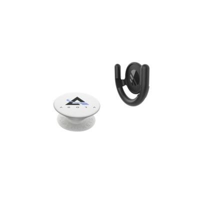 Picture of POPSOCKETS® SURFACE MOUNT COMBO SET PHONE HOLDER in White