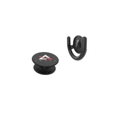 Picture of POPSOCKETS® SURFACE MOUNT COMBO SET PHONE HOLDER in Black