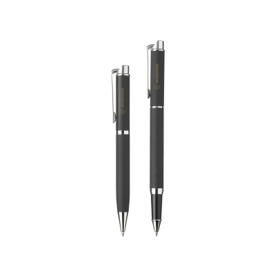 Picture of BLACKJACK WRITING SET in Black