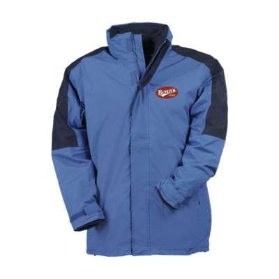 Picture of REGATTA DEFENDER III 3-IN-1 JACKET MENS in Cobalt Blue