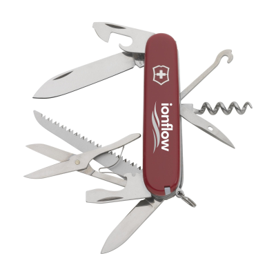 Picture of VICTORINOX HUNTSMAN KNIFE in Red