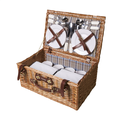 Picture of QUALITYTIME PICNIC BASKET in Brown