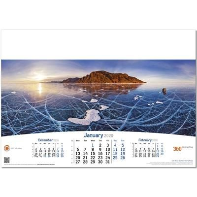Picture of RED HOT 6 LEAF WALL CALENDAR