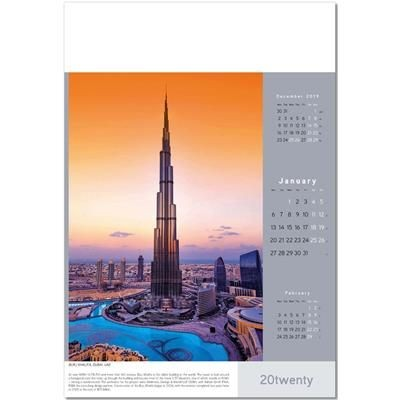 Picture of ARCHITECTURAL INNOVATION WALL CALENDAR