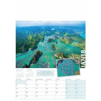 Picture of ALTITUDE WALL CALENDAR