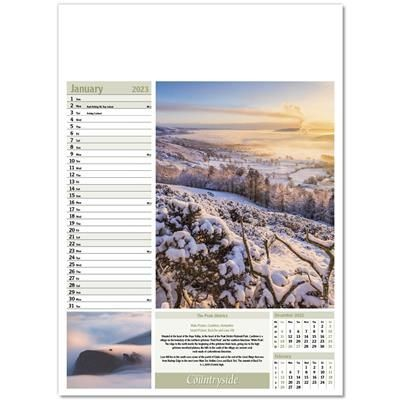 Picture of BRITISH COUNTRYSIDE WALL CALENDAR