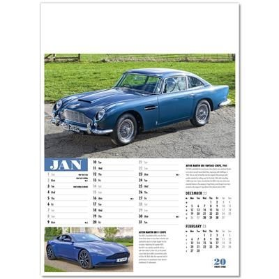 Picture of COLLECTORS CARS WALL CALENDAR