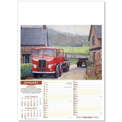 Picture of COMMERCIAL CLASSICS WALL CALENDAR