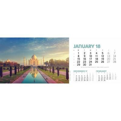 Picture of TASTE FOR TRAVEL DESK CALENDAR