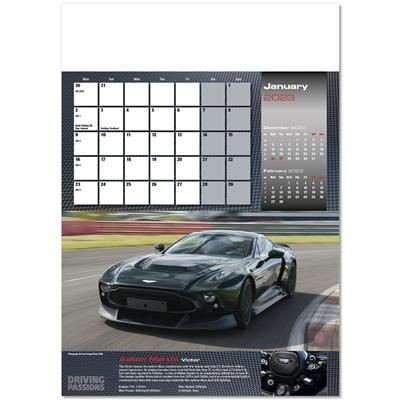 Picture of DRIVING PASSIONS WALL CALENDAR
