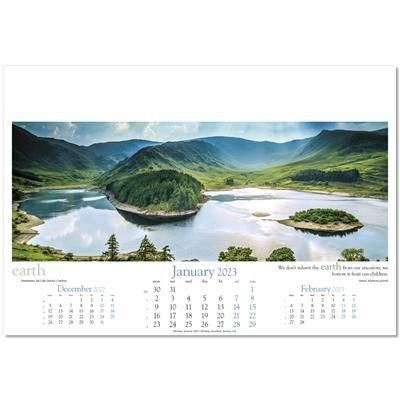 Picture of INVISION WALL CALENDAR