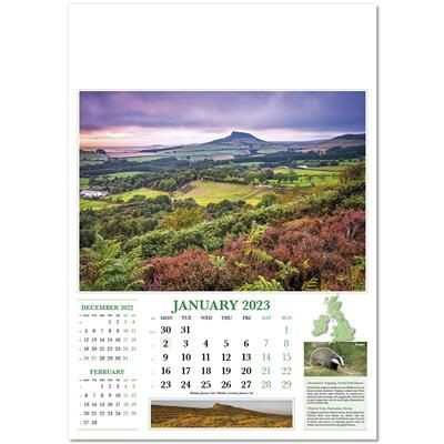 Picture of LOOK AT BRITAIN WALL CALENDAR