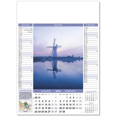 Picture of MOODS WALL CALENDAR