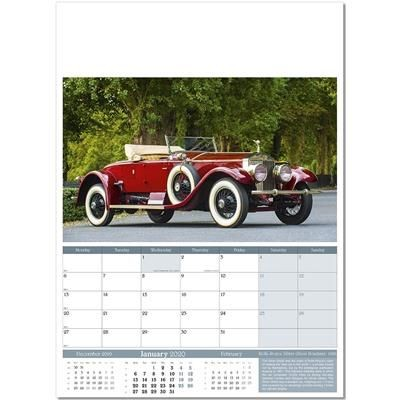 Picture of VINTAGE MARQUES WALL CALENDAR