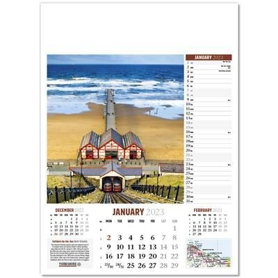 Picture of YORKSHIRE GLORY WALL CALENDAR