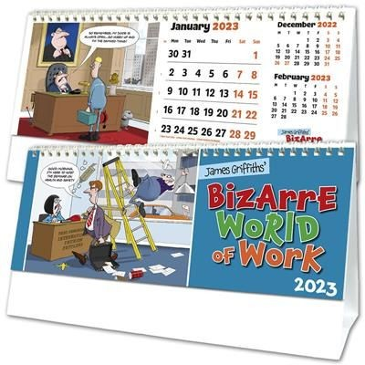 Picture of COMPANY CHARACTERS DESK CALENDAR