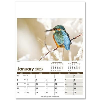 Picture of RURAL LIFE OPTIMA WALL 12 LEAF CALENDAR