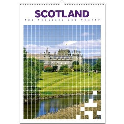 Picture of SCOTLAND OPTIMA WALL 12 LEAF CALENDAR