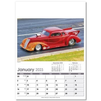 Picture of ON THE MOVE OPTIMA WALL 12 LEAF CALENDAR