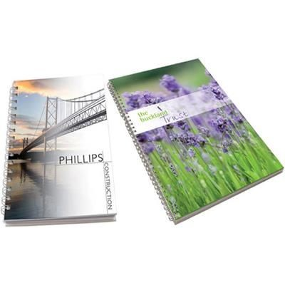 Picture of A5 WIRO NOTE BOOK with Hard Case Cover