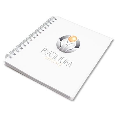 Picture of RECYCLED SPIRAL WIRO BOUND NOTE PAD