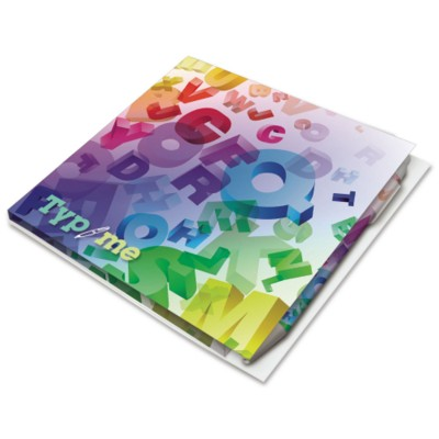 Picture of BIC® 150X150MM BOOKLET with Pen-Loop
