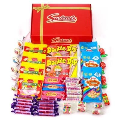 Picture of PERSONALISED RETRO SWEETS HAMPER 500G