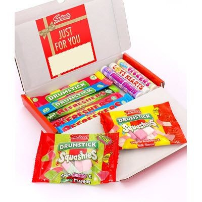Picture of PERSONALISED LETTERBOX FRIENDLY SWEETS HAMPER 299G