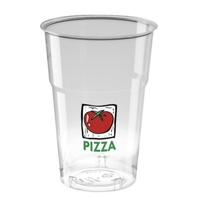 Picture of DISPOSABLE PLASTIC TUMBLER 620ML-22OZ - CRYSTAL POLYSTYRENE