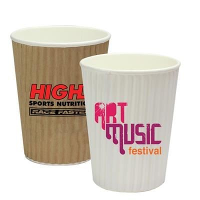 Picture of RIPPLED SIMPLICITY PAPER CUP 12OZ-340ML