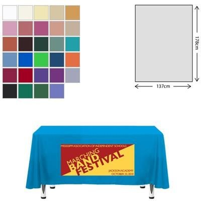 Picture of FABRIC RECTANGULAR TABLE CLOTH 138 X 178CM