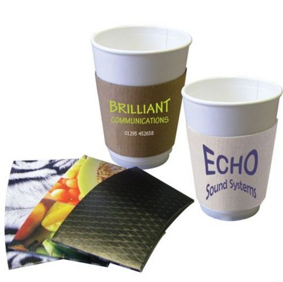 Picture of SOLID PAPER CUP SLEEVE 8-10OZ-240-300ML