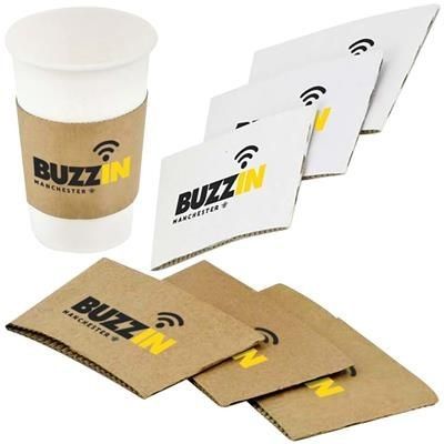 Picture of SOLID PAPER CUP SLEEVE 12-16OZ-360-480ML