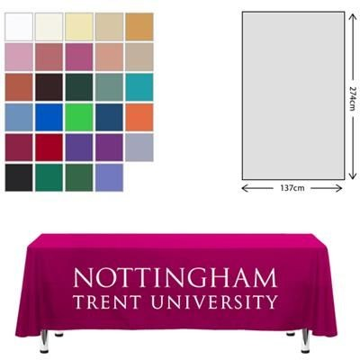 Picture of FABRIC RECTANGULAR TABLE CLOTH 138 X 275CM