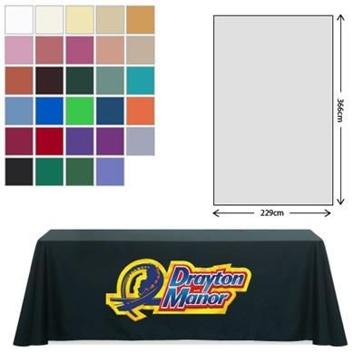Picture of FABRIC RECTANGULAR TABLE CLOTH 229 X 366CM