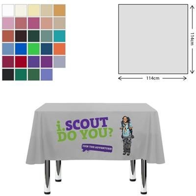Picture of FABRIC SQUARE TABLE CLOTH 115 X 115CM