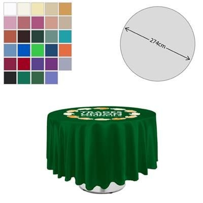 Picture of FABRIC ROUND TABLE CLOTH 275CM DIAMETER