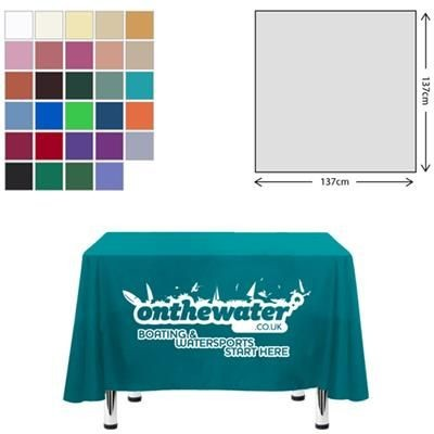 Picture of FABRIC SQUARE TABLE CLOTH 138 X 138CM