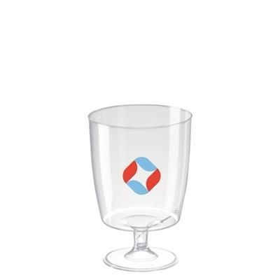 Picture of DISPOSABLE PLASTIC WINE GLASS 220ML-7OZ