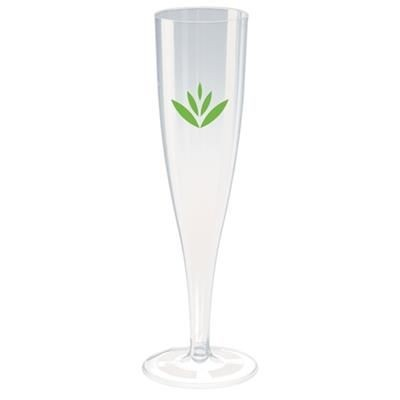 Picture of PLASTIC CHAMPAGNE FLUTE in Clear Transparent